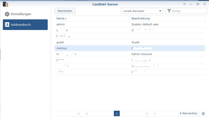 handy adressbuch server synchronisieren